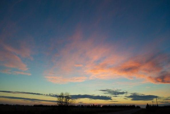 Vermilion sky